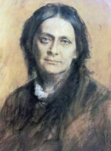 Clara Schumann (2) Portrait By Franz Von Lenbach, 1878