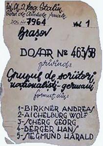 1959 Procesul Scriitorilor Germani