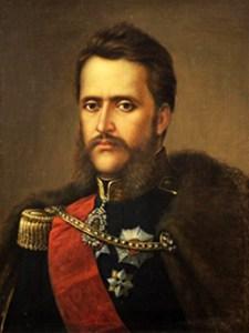 1859 Alexandru Ioan Cuza Portret De Mișu Popp