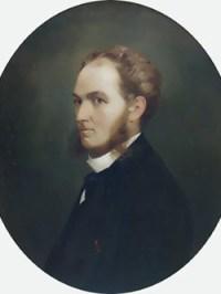 1862 Carol Davila. Portret De Theodor Aman