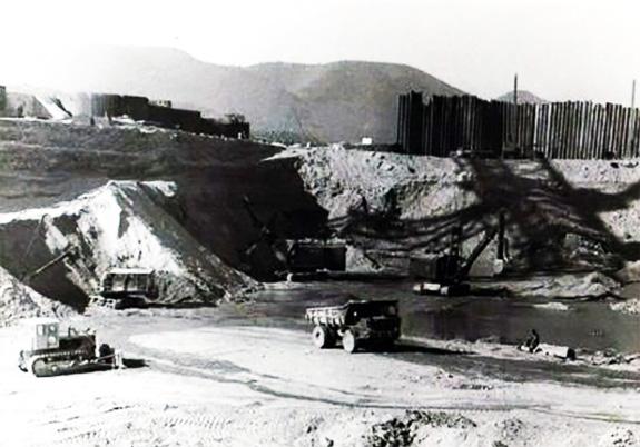 1964 Începerrea Execuţiei Shen Porţile De Fier I