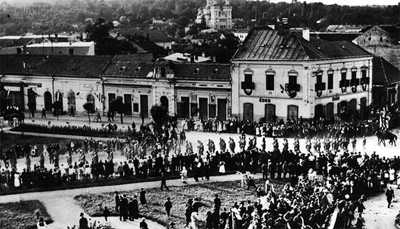 1940a Trupe Maghiare La Zalău în Ajunul Masacrului De La Treznea
