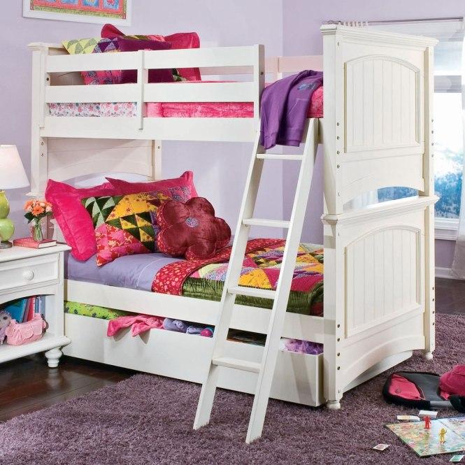 Carolina Retrat Twin Over Lea Retreat Bunk Bed
