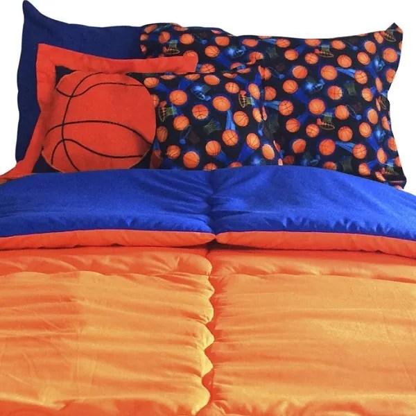Basket Bunk Bed Hugger Fitted Basketball Theme Bedding