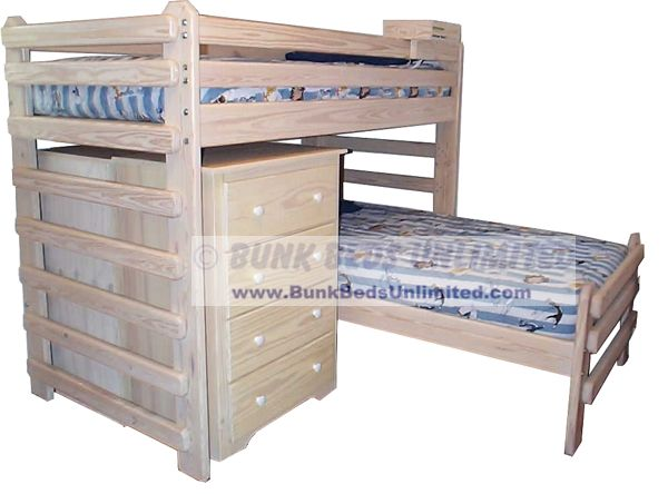 bed plan l shaped twin over twin bunk beds unlimited bunk bed plans