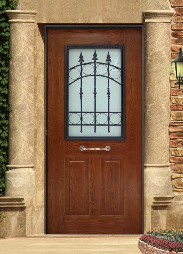 Vano vetro bristol effetto massello dettagli prodotto - Vetro per porta interna ...