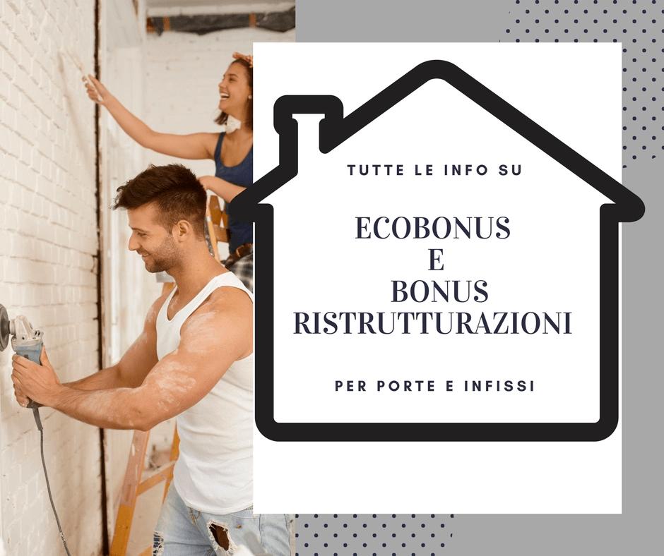 Detrazioni fiscali 2018 ecobonus e ristrutturazioni for Detrazioni fiscali 2018
