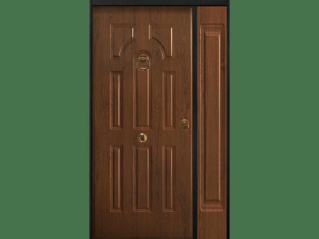 porta blindata con pannello c100 acciaio pvc