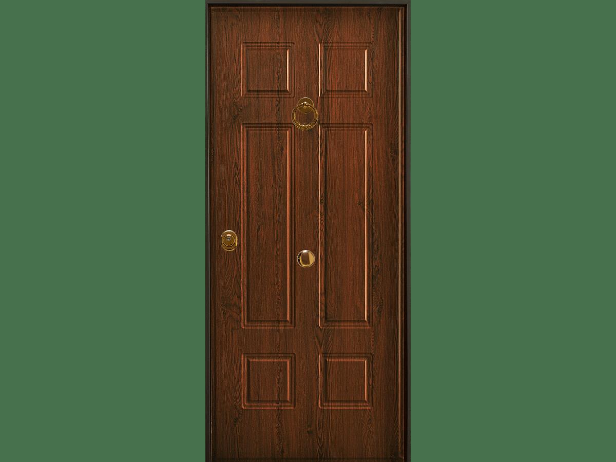 porta blindata con pannello vecchia milano acciaio pvc
