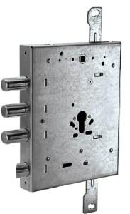 serratura triplice ad ingranaggio entrata 90