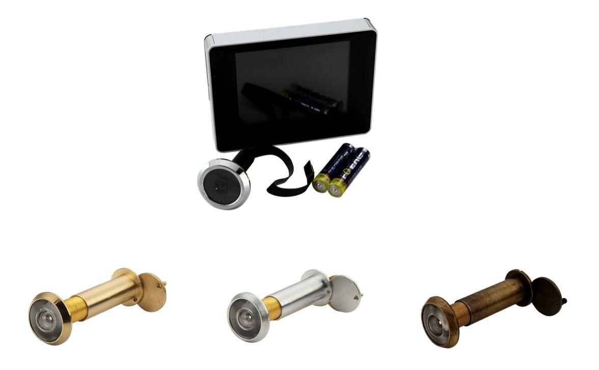 Spioncini per porta blindata classico elettronico