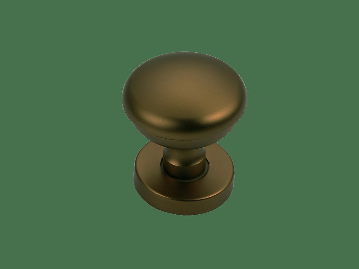 pomello porta alluminio bronzo