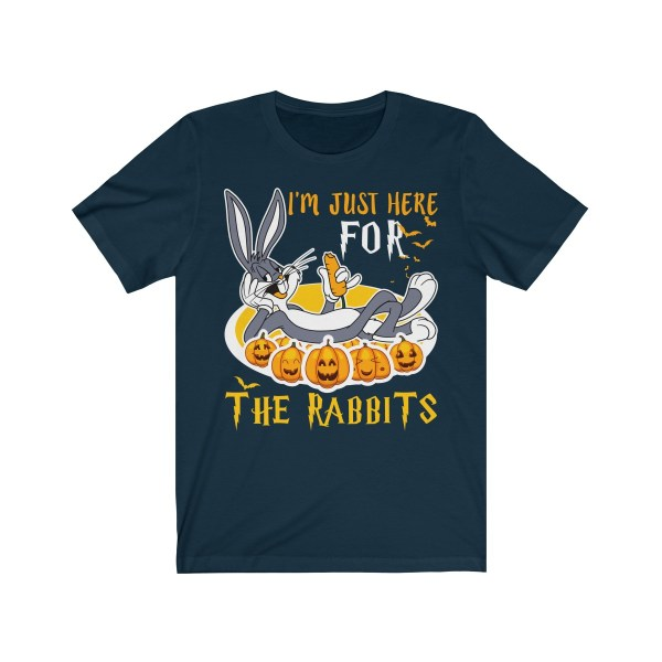I'm Just Here For The Rabbits Halloween Tshirt