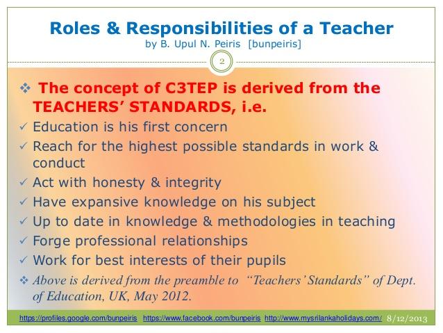 5 important roles of a teacher