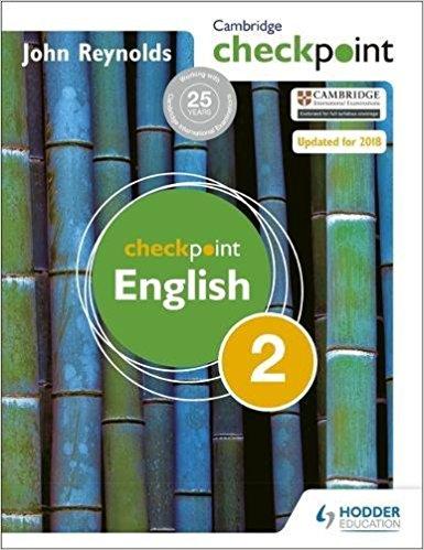 Cambridge Checkpoint English 2 Reynolds - bunpeiris Literature