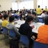 広島工業大学の新入生オリエンテーションで分数大好き!!