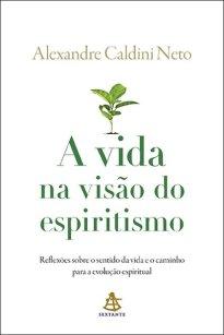 Capa do livro A vida na visão do espiritismo