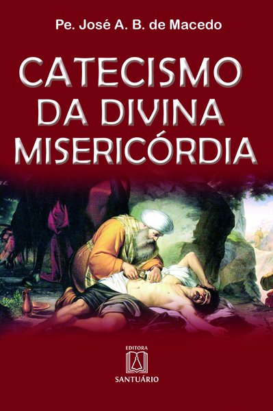 Capa do livro Catecismo da divina misericórdia