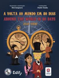 A volta ao mundo em 80 dias (versão português e inglês)