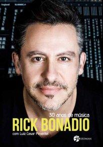 Capa do livro Rick Bonadio - 30 anos de música