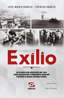 Capa do livro Os caminhos do exílio