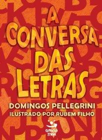 Capa do livro A conversa das letras