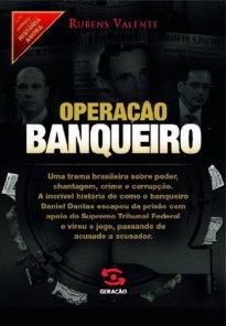 Capa do livro Operação banqueiro