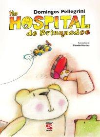 Capa do livro infantil No hospital de brinquedos