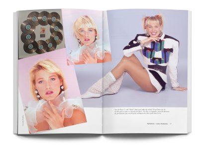 Miolo com fotos do livro Memórias de Xuxa Meneguel