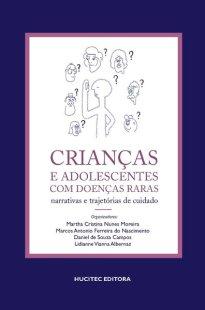 Capa do livro Crianças e adolescentes com doenças raras