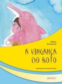 Capa do livro A vingança do boto