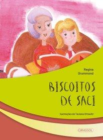 Capa do livro Biscoitos de saci