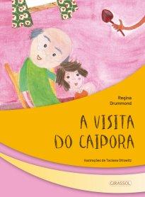 Capa do livro A visita do Caipora