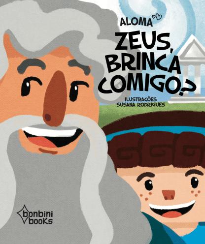 Capa do livro Zeus, brinca comigo?