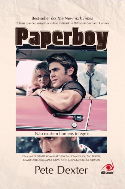 Capa do livro Papaerboy