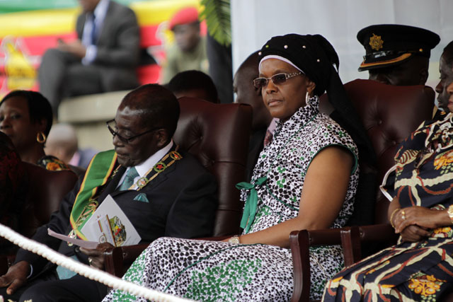First lady Grace Mugabe