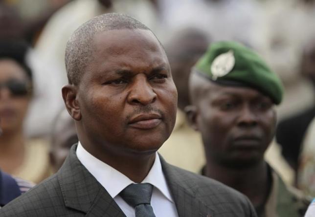 La Repubblica Centrafricana ha un presidente.