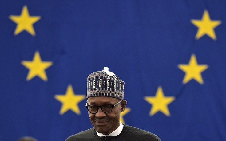 Il Presidente Buhari a Strasburgo