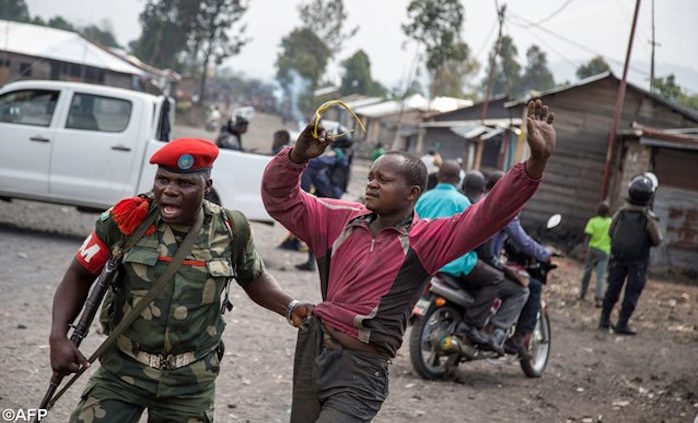 RDCongo proteste anti Kabila