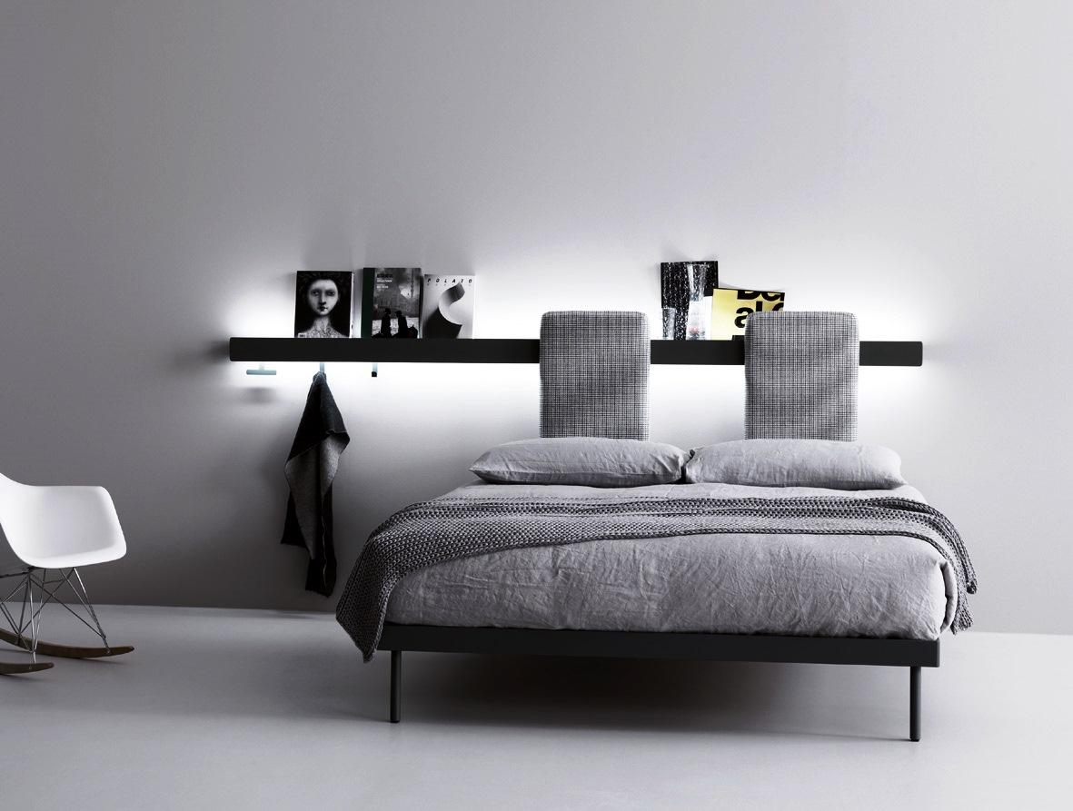 Caccaro groove sistema letto dove la parete diventa una - Parete testiera letto ...