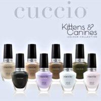 Cuccio Colour Kittens & Canines, la collezione smalti Primavera 2021 amica degli animali