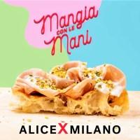 """""""Mangia con le mani"""": Alice inaugura l'ottava pizzeria a Milano"""