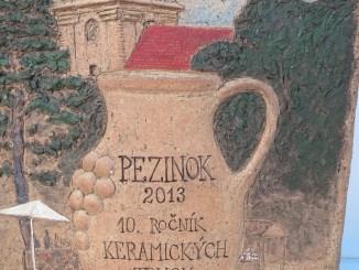 Mostra di ceramica a Pezinok 2013