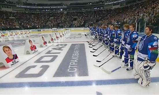A Minsk ricordo della tragedia del Lokomotiv