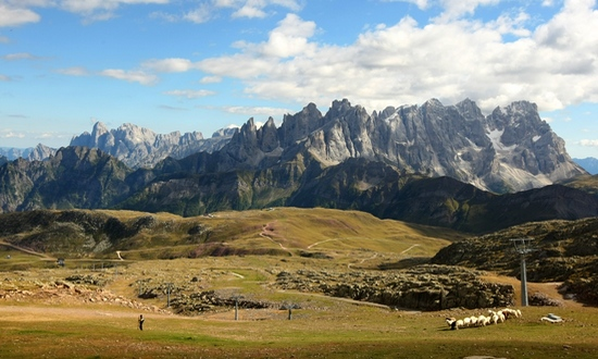Dolomiti da Col Margherita (foto Dolomiti Stars)
