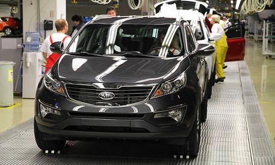 Kia Motors a Zilina