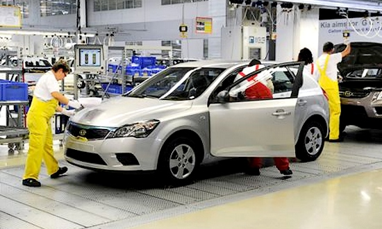 Kia Motors, fabbrica di Zilina