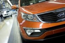 Kia Motors, un modello Sportage