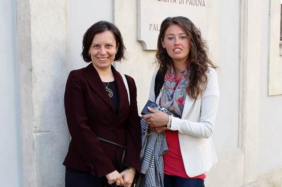L'autrice con la dott.ssa Stefania Mella