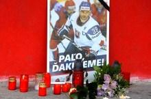 Pavol Demitra, il lutto a Trencin